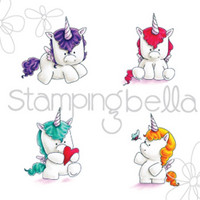 Leima, Stamping Bella, Set Of Unicorns