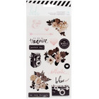 Heidi Swapp Magnolia Jane Clear Stickers, 16 osaa