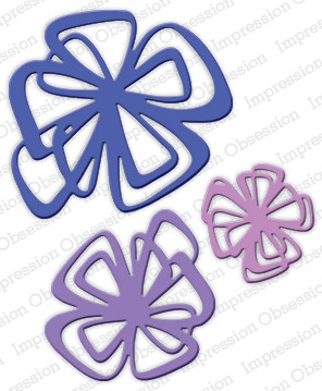 Impression Obsession-stanssi, Geometric Flower