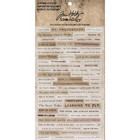 Tim Holtz Idea-Ology Stickers, Clippings , 295 tarraa