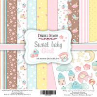 Paperikko, Sweet baby girl, 8''x8'', 10 sivua