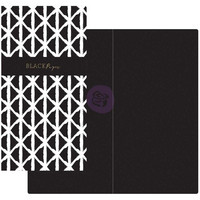 Prima Marketing - Prima Traveler's Journal Notebook Refill, Black Paper