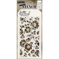 Tim Holtz Layered Stencil, Floral