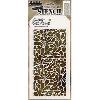 Tim Holtz Layered Stencil, Splash