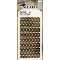 Tim Holtz Layered Stencil, Diamonds
