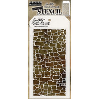 Tim Holtz Layered Stencil, Stone