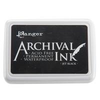 Ranger - Archival Ink leimamustetyyny, Jet Black