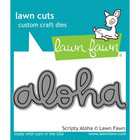 Lawn Fawn - Stanssi, Scripty Aloha