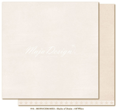 Maja Design - Monochromes - Shades of Denim - Off white