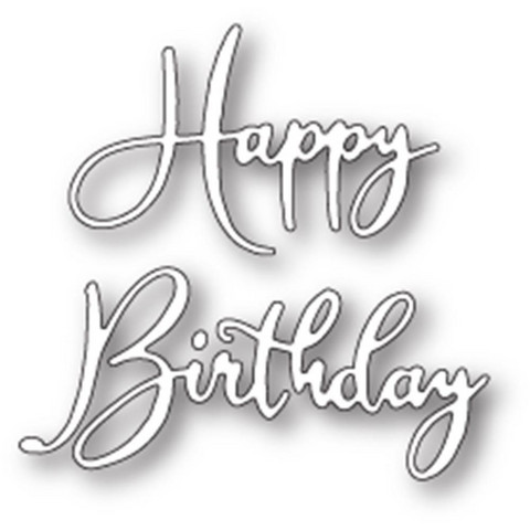 Memory Box - Stanssi, Happy Birthday Friendship Script
