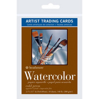 Strathmore - Artist Trading Cards,  Watercolor, 10 kpl