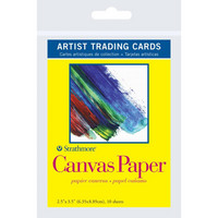 Strathmore - Artist Trading Cards, Canvas, 10 kpl