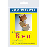 Strathmore - Artist Trading Cards, Bristol Smooth, 20 kpl