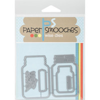 Paper Smooches - Stanssi, Mason Jars