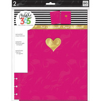 MAMBI Happy Planner - BIG Snap-In Cover, Pink