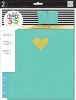 MAMBI Happy Planner - BIG Snap-In Cover, Turquoise