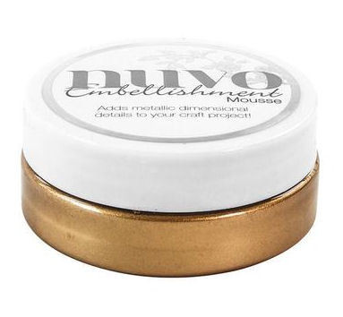 Tonic - Nuvo Embellishment Mousse, Cosmic Brown, 62,5g