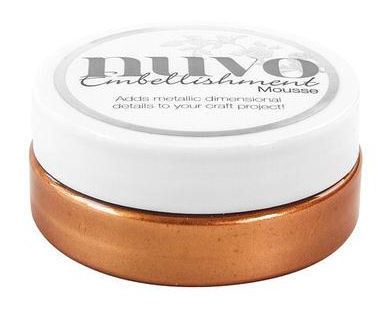 Tonic - Nuvo Embellishment Mousse, Fresh Copper, 62,5g