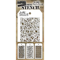 Tim Holtz - Mini Layered Stencil, Set #24