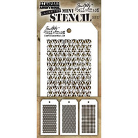 Tim Holtz - Mini Layered Stencil, Set #27