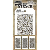 Tim Holtz - Mini Layered Stencil, Set #26