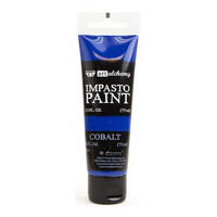 Prima Marketing - Finnabair Art Alchemy Impasto Paint, Cobalt