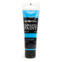 Prima Marketing - Finnabair Art Alchemy Impasto Paint, Azure
