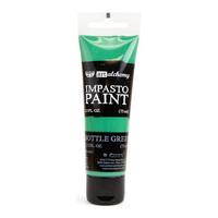 Prima Marketing - Finnabair Art Alchemy Impasto Paint, Bottle Green