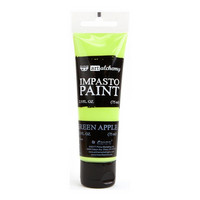 Prima Marketing - Finnabair Art Alchemy Impasto Paint, Green Apple