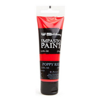 Prima Marketing - Finnabair Art Alchemy Impasto Paint, Poppy Red