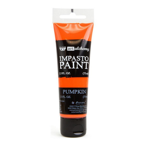 Prima Marketing - Finnabair Art Alchemy Impasto Paint, Pumpkin
