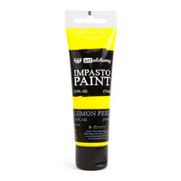 Prima Marketing - Finnabair Art Alchemy Impasto Paint, Lemon Peel