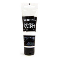 Prima Marketing - Finnabair Art Alchemy Impasto Paint, Snow White