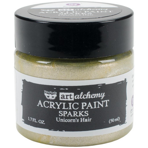 Prima Marketing - Finnabair Art Alchemy Sparks Acrylic, Unicorn's Hair