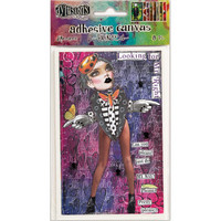 Dyan Reaveley's Dylusions Adhesive Canvas, 8 kuvaa