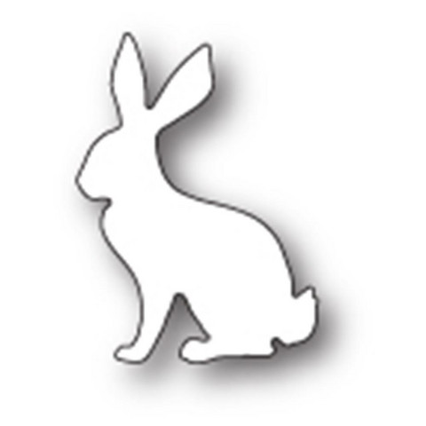 Poppy Stamps - Stanssi, Serene Rabbit