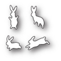 Poppy Stamps - Stanssi, Leaping Little Bunnies