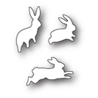 Poppy Stamps - Stanssi, Bunny Hop
