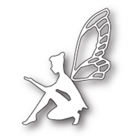 Poppy Stamps - Stanssi, Thoughtful Faerie