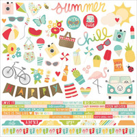 Simple Stories - Cardstock Stickers 12