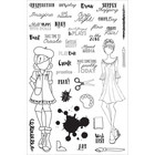 Prima Marketing - Julie Nutting Planner Clear Stamps, Craft Day