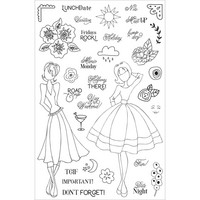 Prima Marketing - Julie Nutting Planner Clear Stamps, Calendar Musts