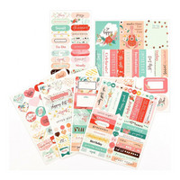 Prima Marketing - My Prima Planner Stickers, Be Happy, 191 tarraa