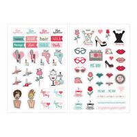 Prima Marketing - Julie Nutting Planner Stickers, Beauty, 65tarraa