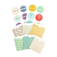Prima Marketing - Julie Nutting Planner Inserts, Pockets & Labels, 18osaa