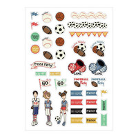 Prima Marketing - Julie Nutting Planner Stickers, Sport, 39tarraa