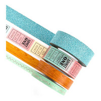 Prima Marketing - Prima Traveler's Journal Decorative Tape, Sweet Notes, 4rullaa