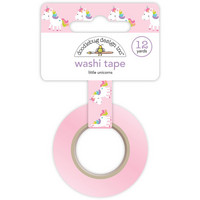 Doodlebug Washi Tape, Little Unicorns, 15mmX11m