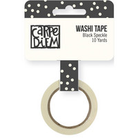 Simple Stories - Carpe Diem Washi, Bliss Black Speckle