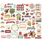 Simple Stories - Carpe Diem Vintage Blessings Bits & Pieces Die-Cuts, 58kpl